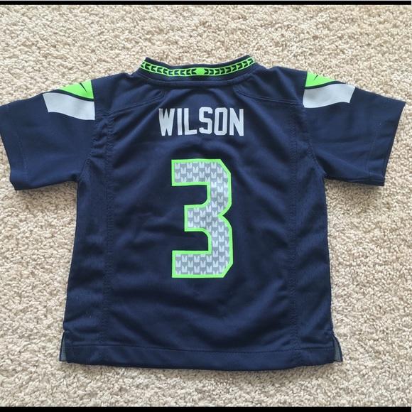 best service 8e1a1 80441 Nike Seattle Seahawks Russell Wilson jersey 3T